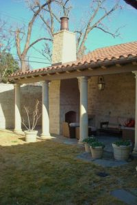 Why Outdoor Fireplaces Need A Chimney Cap European Copper